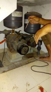 Service pompa air bintaro 1